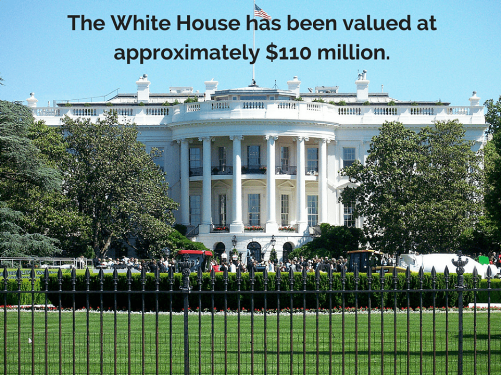 What is the White House Worth? What Would a Real-Estate Agent's Commission Be If They Sold The White House?